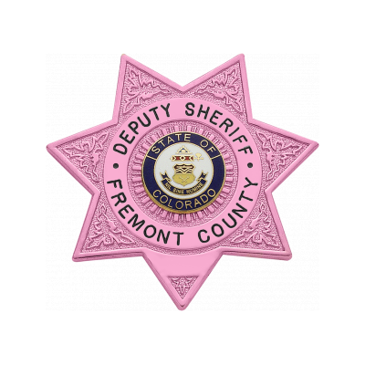 M399 Smith & Warren Breast Cancer Awareness 7-Point Star Badge